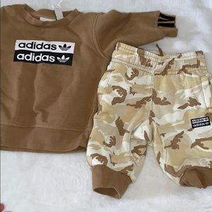 Infant adidas sweatsuit